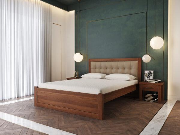 """Дерев'яне Ліжко """"Мадрид М50"""""""