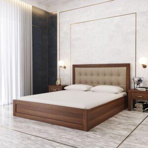 """Дерев'яне Ліжко """"Мадрид М50"""" з підйомним механізмом"""